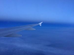 Der Hinflug