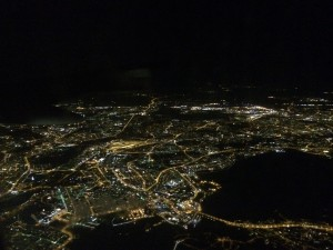 Helsinki bei Nacht
